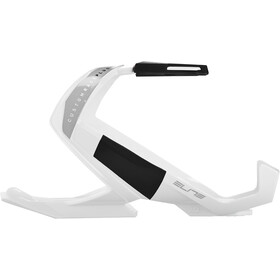 Elite Custom Race Plus Porte-bidon, glossy white/black design